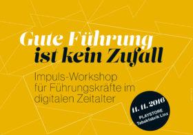 Impuls-Workshop: Gute Führung ist kein Zufall
