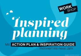 Mit Action Plan & Inspiration Guide motiviert ins neue Jahr