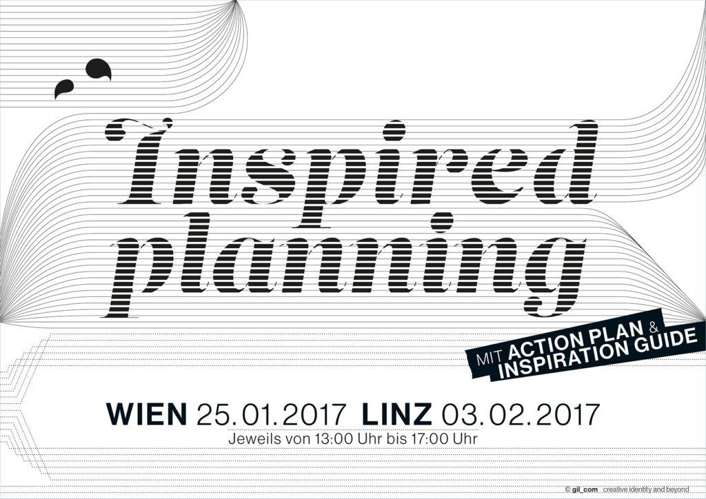 Happy 2017 startet mit 'inspired planning' in Wien und Linz